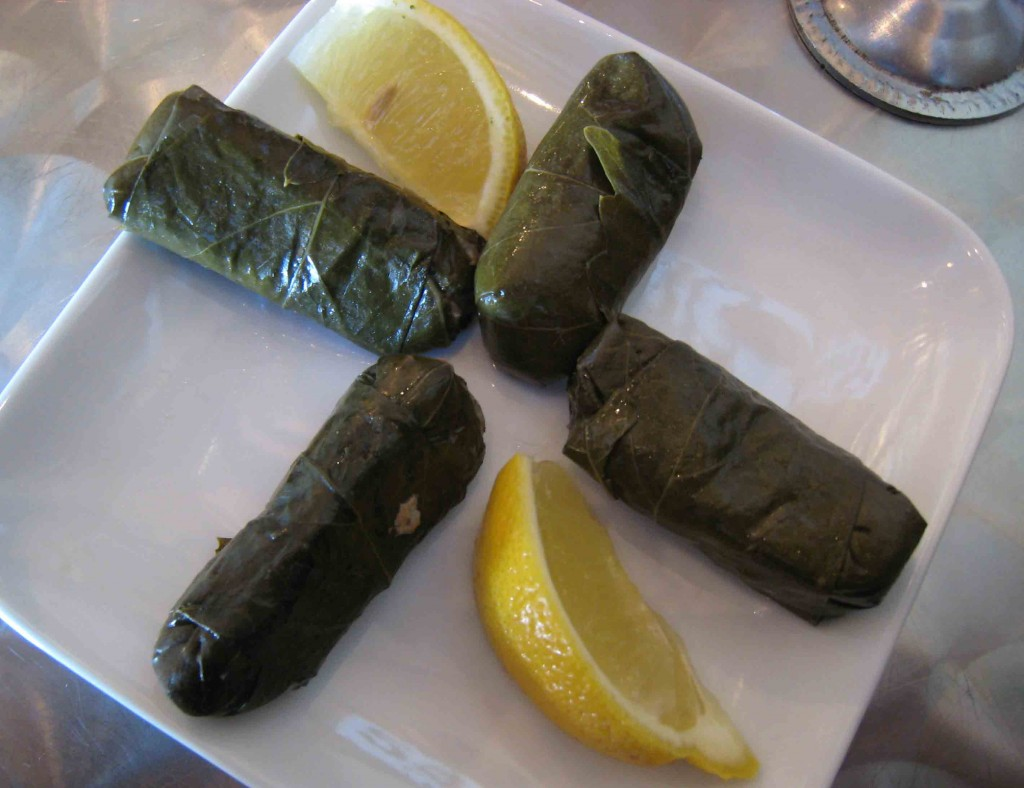 Dolmades Avgolomono at Hello Gyro